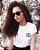 Camiseta Feminina GRL PWR - minimalista  - Imagem 1