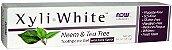 Creme Dental SEM FLÚOR XyliWhite™, Now Foods, 181g - Imagem 2