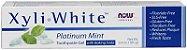 Creme Dental SEM FLÚOR XyliWhite™, Now Foods, 181g - Imagem 3