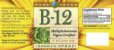 Spray B-12(Methylcobalamina) Vegana, 500 mcg, Pure Vegan, 30ml - Imagem 2