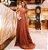 Vestido longo em Tule com Trança Thalia - Imagem 2