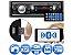 Mp3 Player Automotivo Roadstar Rs-2606br Usb Sd Radio Fm Aux com Bluetooth - Imagem 1