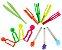 Pinças para atividades sensoriais - Imagem 1