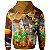 Moletom Com Capuz Unissex Mario Bross md01 - Imagem 2