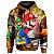 Moletom Com Capuz Unissex Mario Bross md01 - Imagem 1