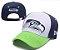 Boné New Era Aba Curva - Seattle Seahawks - Imagem 1