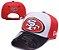 Boné New Era Aba Curva - San Francisco 49ers - Imagem 1