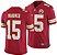 Jersey  Camisa Kansas City Chiefs Patrick MAHOMES #15 - Imagem 1
