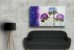Quadro Decorativo Abstrato Duplo 60x113 QDD02 - Imagem 2