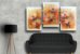 Quadro Decorativo Abstrato Triplo 60x126 QDT01 - Imagem 2