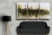 Quadro Decorativo Abstrato Triplo 60x126 QDT03 - Imagem 2