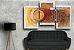 Quadro Decorativo Abstrato Triplo 60x126 QDT04 - Imagem 2