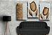 Quadro Decorativo Abstrato Triplo 60x126 QDT08 - Imagem 2