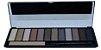 Kit Maquiagem 12 Cores c/ Fixador HB9908  - Cor Nude - Imagem 2