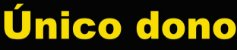 """Adesivo """"UNICO DONO"""" Veículo Para Lojas E Concessionárias - 50 Unidades - Imagem 1"""