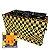 COMBO 5 - Capa Multiuso Xadrez Amarelo + Sacola Technic-se Black - Imagem 2