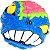 2x2x2 Mad Hedz - Crazy Brain (Azul) - Imagem 2