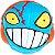 2x2x2 Mad Hedz - Crazy Brain (Azul Claro) - Imagem 2
