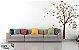 Adesivo Decorativo  - Árvore, Pássaros e Gaiola - Imagem 1