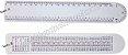 Régua PVC Personalizada 20cm - Imagem 3