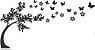 Árvore com borboletas  - Imagem 2