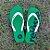 Chinelo de Dedo Reiôsse Verde com Branco - Imagem 1