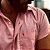 Camisa de Botão Vermelha Sem Etiqueta - Imagem 2