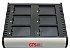 HCH-7006-CHG - Carregador de bateria GTS 6 Compartimentos Para Symbol MC70/MC75  - Imagem 1