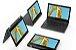 81M90043BR Notebook Lenovo 2 EM 1 300e Intel Celeron Quad Core N4100 4gb 128gb Emmc 11.6 IPS Multi Touch Windows 10 Home Preto - Imagem 2