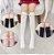 Meia 3/4 Infantil Funny - Tamanho G - modelo GATO - Imagem 1