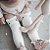 Meia 3/4 Infantil Gatinho Tam 0 a 4 anos - Imagem 1