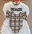 Body Burberry com faixinha de cabelo Turbante - Imagem 1