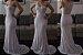 vestido de noiva sereia com renda e tule - Imagem 2
