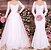 Vestido de Noiva Longo renda Organza manga longa 2 modelos em 1 - Imagem 1