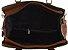 Bolsa Feminina em couro Transversal Marrom Kit 3 Peças - Imagem 5