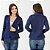 Blazer Azul Marinho Feminino social Slim Fit Acinturado - Imagem 1