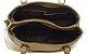 Bolsa Couro Feminina Bege Kit com 3 bolsas Transversal  - Imagem 2