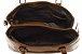 Bolsa Couro Feminina Marrom Transversal  Kit com 3 bolsas  - Imagem 3