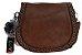 Bolsa Feminina de couro Ombro Marrom Pequena - Imagem 2