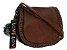 Bolsa Feminina de couro Ombro Marrom Pequena - Imagem 1