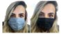 Mascara De Proteção Respiratória Lavável Dupla Face Preto - Imagem 1