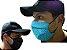 Mascara De Proteção Corona vírus Respiratória Lavável Dupla Face Kit 3 - Imagem 1