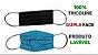 Mascara De Proteção Corona Vírus Respiratória Lavável Dupla Face  Kit 5 Unidades - Imagem 4