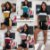 conjunto Feminino Short Blusa manguinha lançamento - Imagem 7