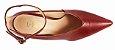 Scarpin Le Bianco Ferrara Salto Alto Fino Em Calf Vermelho - Imagem 3