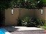Arandela Quadrada para Jardim Femarte 509 71x10x14.5cm G13 20W Externo - Imagem 3