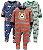 Macacão Pijama Plush Carter's - Imagem 1