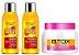 Keratinex - Kit Escova Progressiva Turbinada 2 Passos 300ml Cada + Redutor de Volume Mega Hidratante 250g (Creme Alisante) - Imagem 1