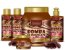 Forever Liss - Bomba de Chocolate Kit Shampoo 300ml + Condicionador 300ml + Creme de Pentear 300 ml + Máscaras 1kg e 250g - Imagem 1