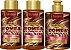 Forever Liss - Bomba de Chocolate Shampoo 300ml + Condicionador 300ml + Creme de Pentear 300g - Imagem 1